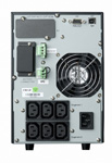 9130 Tower UPS 1000 VA 230V rear panel