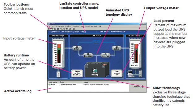Eaton Battery Monitoring System : Eaton ups supervisory software eatonguard